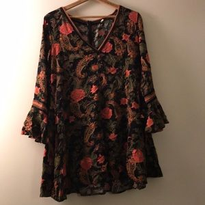 Spell dress size large!!